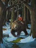 Ellen and the Bear Fine-Art Print