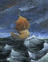 Leaf Boat Fine-Art Print