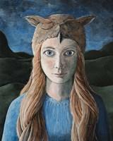 Owl Girl Fine-Art Print