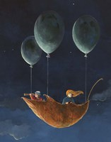 Penelope and the Airship Fine-Art Print