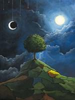 Sun Moon Stars Fine-Art Print