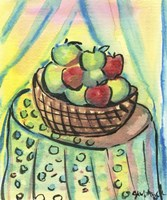Basket of Apples Fine-Art Print
