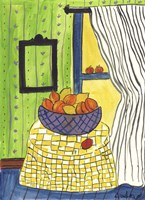 Bowl of Oranges and Lemons Fine-Art Print