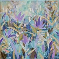 Purple Garden Fine-Art Print