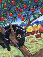 Bear In The Apple Tree Fine-Art Print