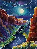 Moonlit Canyon Fine-Art Print
