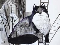 Black Cat 2 Fine-Art Print