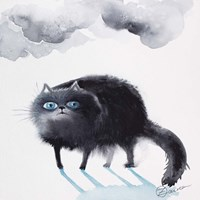 Black Cat 3 Fine-Art Print
