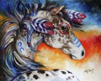 Appaloosa Indian War Horse Fine-Art Print