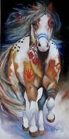 Brave The Indian War Horse Fine-Art Print