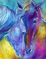 Color My World With Horses Loving Spirits Fine-Art Print