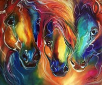 Color My World With Horses Fine-Art Print