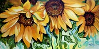 Sunflower Dance Fine-Art Print