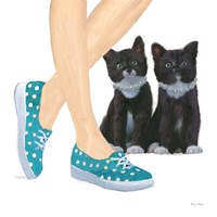 Cutie Kitties III Fine-Art Print
