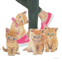 Cutie Kitties I Fine-Art Print