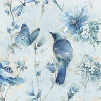 Indigold XII Light Blue Fine-Art Print