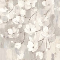 Magnolias in Spring I Neutral Fine-Art Print