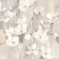 Magnolias in Spring II Neutral Fine-Art Print