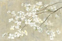 Dogwood in Spring Neutral Crop Fine-Art Print
