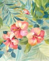 Hibiscus Garden III Fine-Art Print