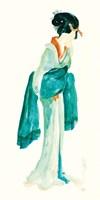 Geisha II Bright Crop Fine-Art Print