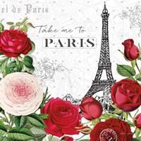Rouge Paris III Fine-Art Print