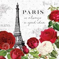Rouge Paris II Fine-Art Print