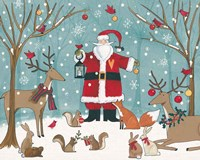 Woodland Christmas VI Fine-Art Print