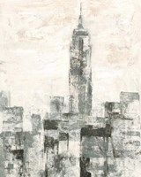 Manhattan Neutral II Crop Fine-Art Print