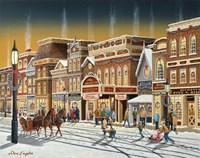 Hometown Christmas Fine-Art Print