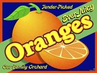 Orange Crate Label Fine-Art Print