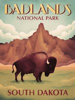 Badlands South Dakota Fine-Art Print