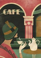 Art Deco Cafe Fine-Art Print