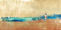 Coast Line and Lighthouse Fine-Art Print
