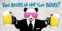 Two Beers or Not Two Beers (detail) Fine-Art Print