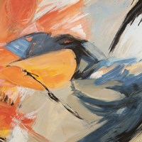 Oranges & Blues (detail) Fine-Art Print