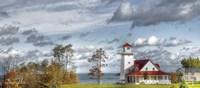 Autumn Lakeside Getaway Fine-Art Print