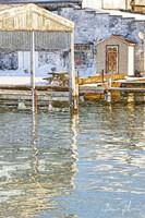 Docks In The Winter Fine-Art Print