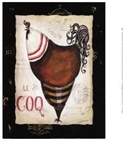 Parisian Rooster II Fine-Art Print