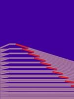 Ultraviolet Pagoda Fine-Art Print