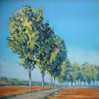 Normandy Poplars II Fine-Art Print