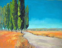 Poplars II Fine-Art Print