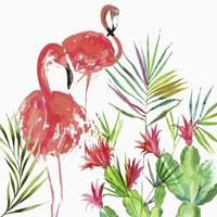 Flamingo Pairing Fine-Art Print