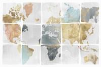 Tiled Map Fine-Art Print