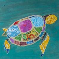 Sea Turtle Right Fine-Art Print