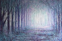 A Light In The Forest Fine-Art Print