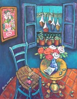 Quiet Corner in Collioure Fine-Art Print