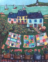 Cottages and Quilts Fine-Art Print