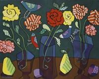 More Patterned Roses Fine-Art Print