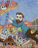 Gaudi Barcelona No Script Fine-Art Print